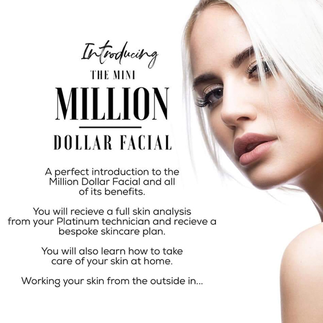 The Mini Million Dollar Facial