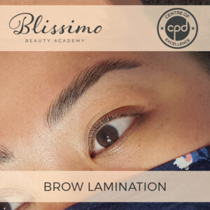 Brow Lamination Course | Blissimo Beauty Academy