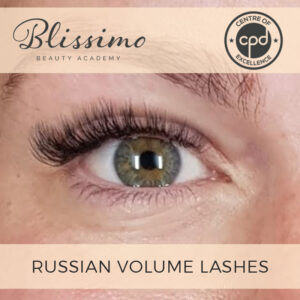 Russian Volume Lashes Course | Blissimo Beauty Academy